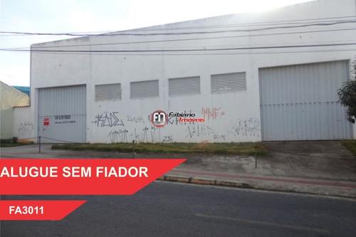 Galpão Para Alugar, Bairro São João Batista, Belo Horizonte - Mg - 3011