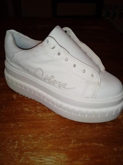 Zapatillas Blancas Luna Chiara