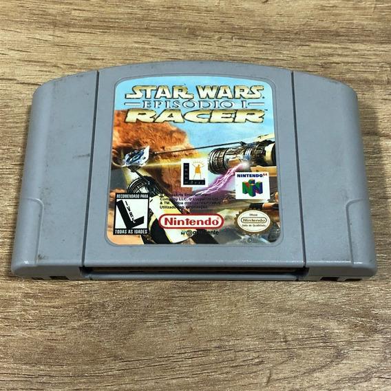 Fita Star Wars Episódio 1 Nintendo 64 N64 Cartucho Original