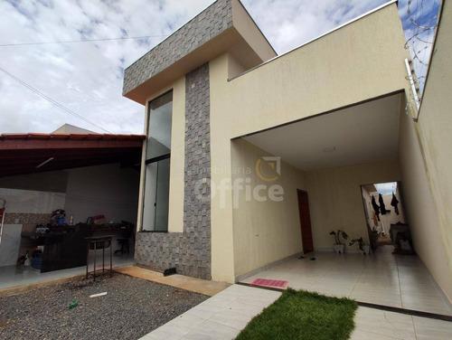 Casa À Venda, 140 M² Por R$ 260.000,00 - Loteamento Cerejeiras - Anápolis/go - Ca0697