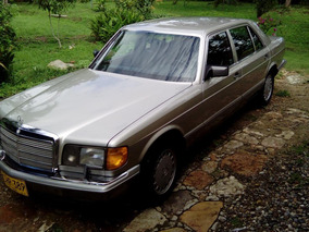 Mercedes Benz 420 Sel 1987 - Unico En Colombia