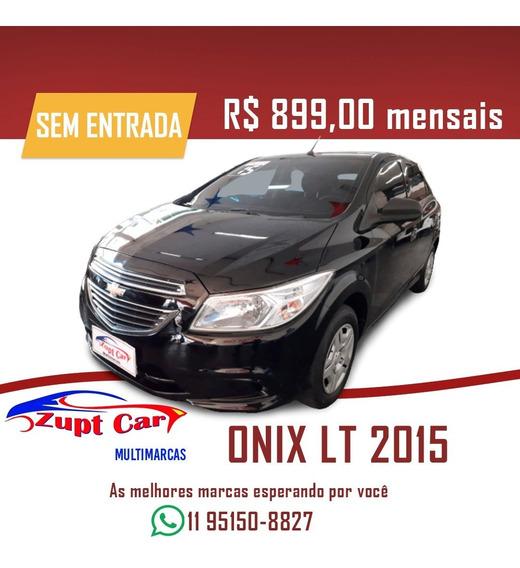 Onix Lt - Sem Entrada - Oportunidade - Carro Para Aplicativo