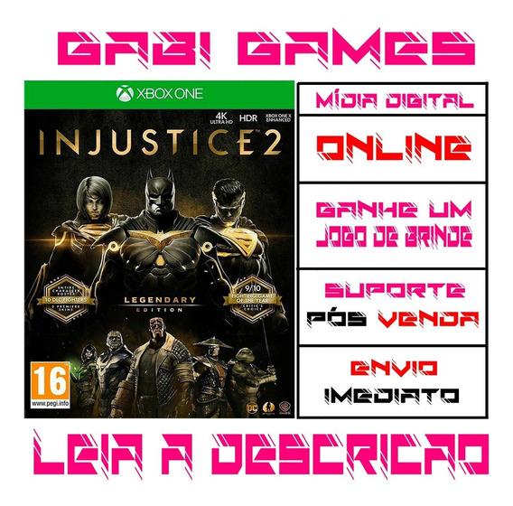 Injustice 2 Edição Lendária - Xbox One - Midia Digital Online + Brinde