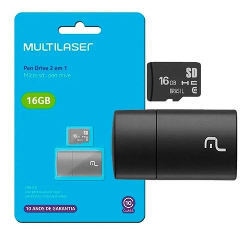 Cartão De Memoria 16gb Multilaser Mc162