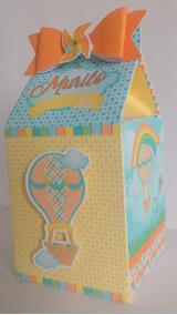 50 Caixa Milk Personalizada - Pipa E Balão - Frete Grátis!!!
