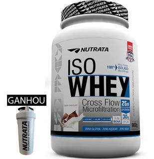 Whey Barato Wey Iso Whey Isolado 100% Nutrata Way Protein