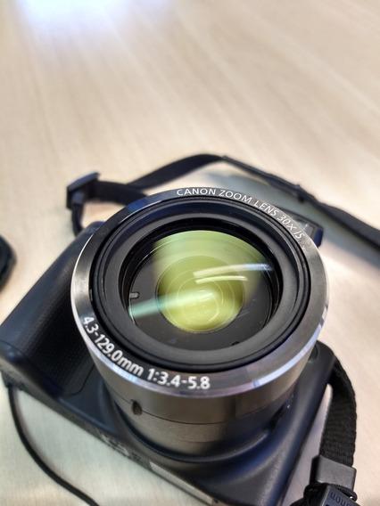 Canon Powershot Sx510hs Semi-pro + Cartão De Memória