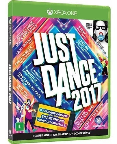 Just Dance 2017 Xbox One Novo Lacrado Mídia Física