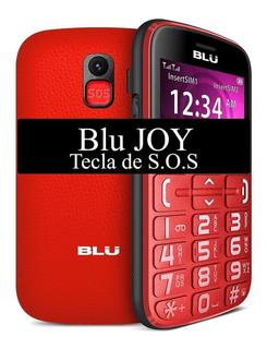 Celular Blu Joy J010 Dual 2.4 Tecla S O S Radio Fm