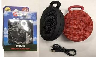 Parlante Bluetooth Premium Redondo 3w - Batería 300ma