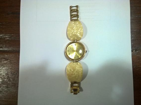 Relógio Gucci Pulseira Marfim.