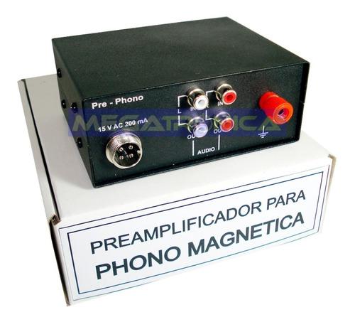 Preamplificador Phono Magnetica Riaa Para Toca Discos   Mercado Libre