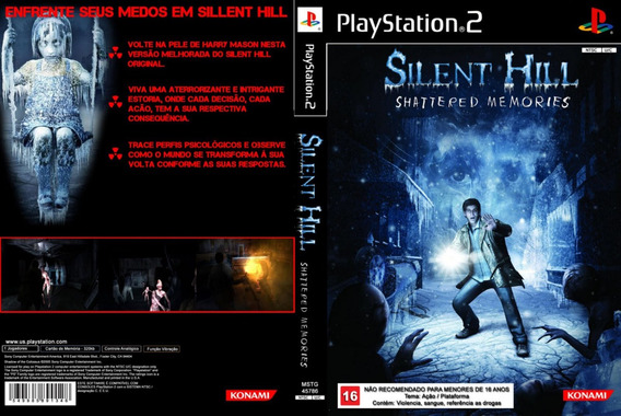 Silent Hill Shattered Memories - Ps2 - Frete R$ 17