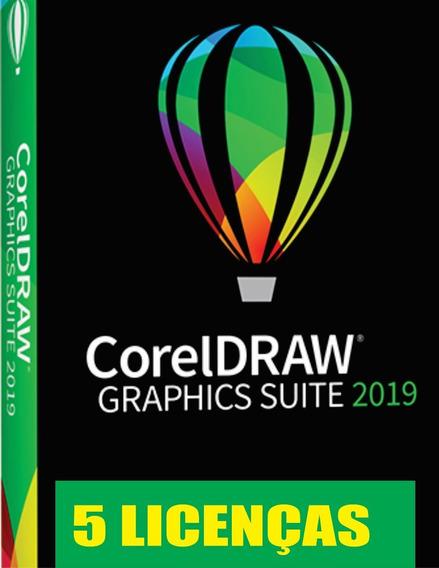 Corel Draw 2019 (5 Licenças Por Compra)