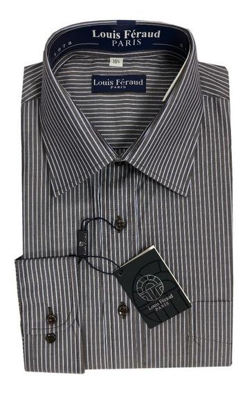 Camisas De Rayas Louis Feraud Manga Larga 102160
