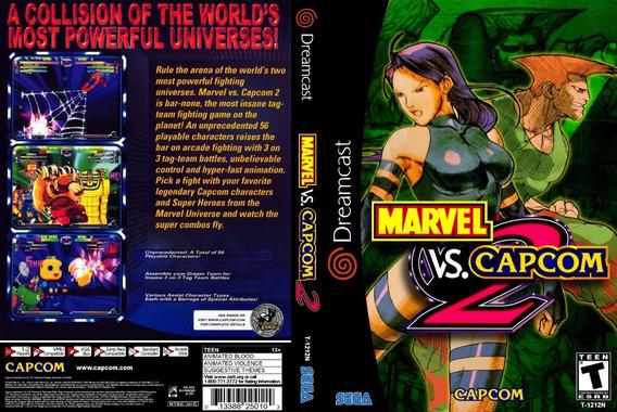 Marvel Vs. Capcom 2 - Dreamcast - Patch - Selfboot
