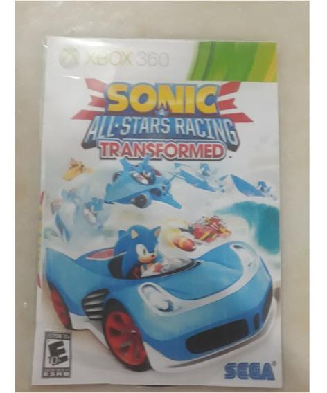 Sonic All Stars Racing Transformed-xbox360 Destravado Lt3.0