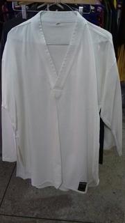 Uniforme Taekwondo Bushido Cuello Blanco Talla 5