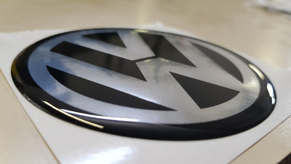 Calco Logo Insignia Vw 90mm Bora/fox/suran/golf Avus