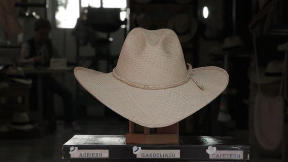 Sombrero Aguadeño Café Cinta Trenzada (55)