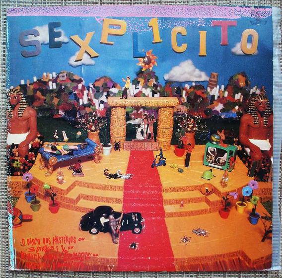 Lp Sexplícito - O Disco Dos Mistérios - Disco Raríssimo