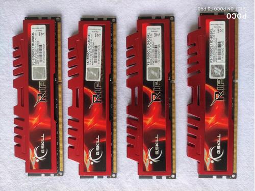 Ddr3 16gb - 4x4gb - 2133mhz - Ripjaws X F3-17000cl11d-8gbxl