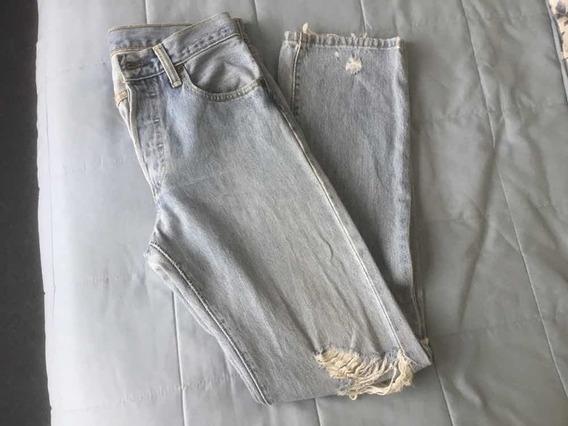 Pantalón De Mezclilla Levis 501 Hombre