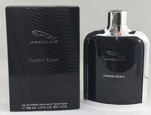 Perfume Jaguar Classic Black 100ml Edt Original Frete Grátis