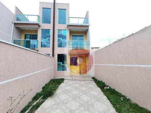 Sobrado Com 3 Dormitórios À Venda, 90 M² Por R$ 330.000,00 - Sítio Cercado - Curitiba/pr - So0124