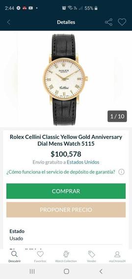 Reloj Rolex Cellini Classic