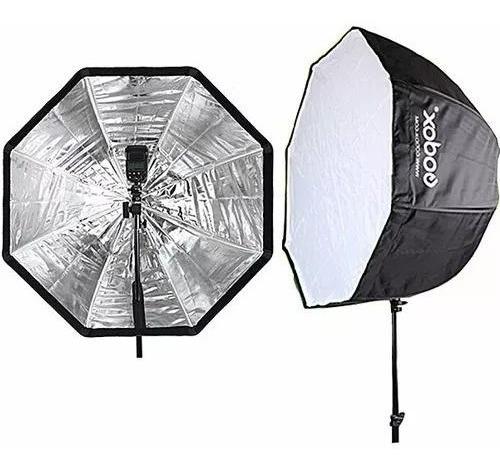 Octabox Godox 80cm Com Suporte E Grid Para Speedlights