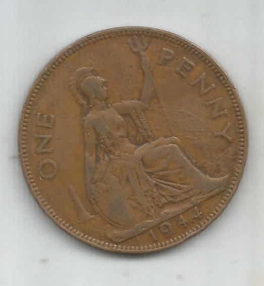 Moneda One Penny 1944 - Monedas y Billetes en Mercado Libre