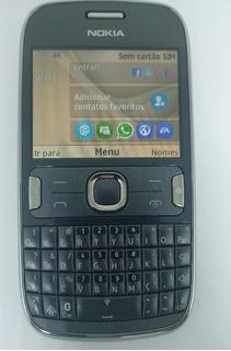 Nokia Asha 302 Cinza Com Defeito Sem Garantia
