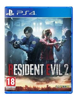 Resident Evil 2 Remake Ps4 Fisico Sellado Nuevo Original