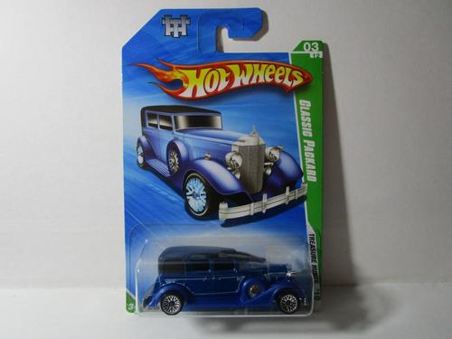Classic Packard Hot Wheels 1/64 Antiguo Auto Carro 7cm Largo