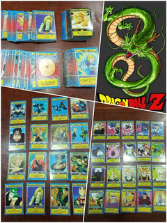 Lote Cartas Dragon Ball Z Gt Cromeros