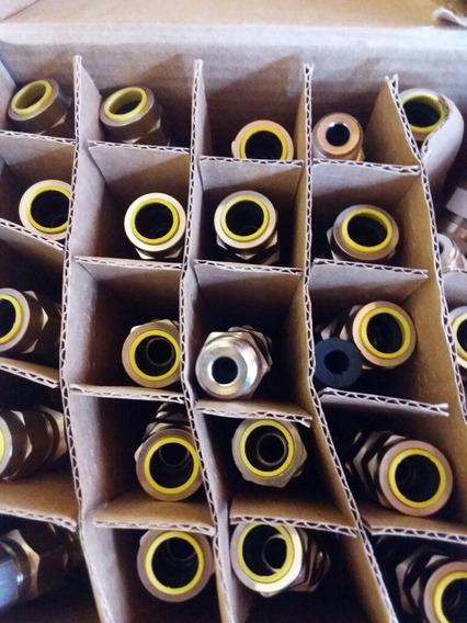 Prensa P/cabo Hummel Eif1/2npt 8,4-13,2mm Latão N10 Kit10 Un