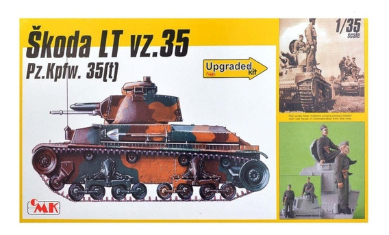 Skoda Lt Vz.35 Pz.kpfw. 35[t] Upgrad Cmk Special Hobby 72386