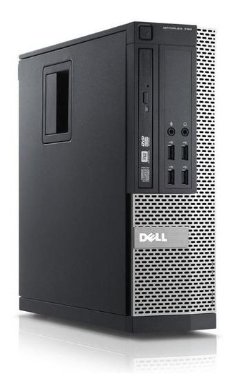 Cpu Dell Mini Core I3 8gb Hd 1tb + Monitor 15 Dell