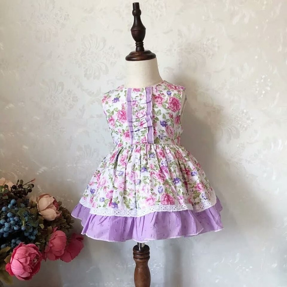 Vestidos Floridos Infantil