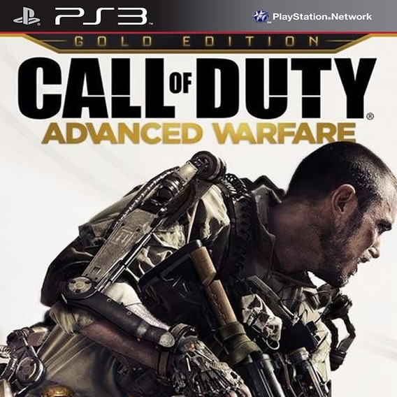 Call Of Duty Advanced Warfare Cod Aw Gold - Jogos Ps3