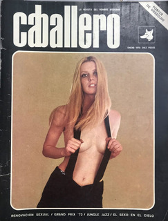 Revista Caballero Patti Rohmer - Enero 1972