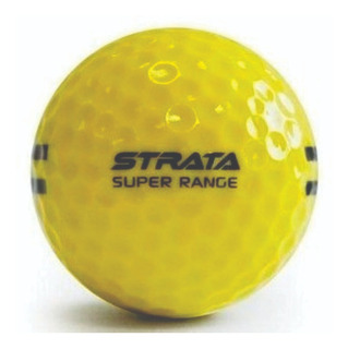 Golf Center Pelota De Driving Nueva Strata Amarilla