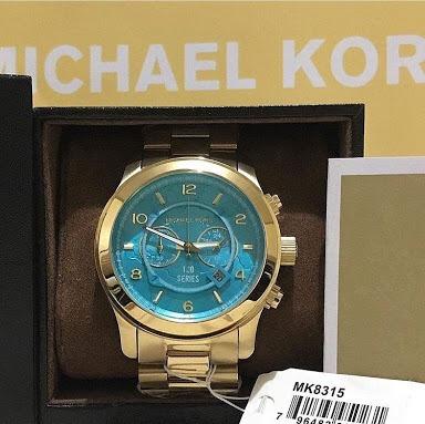 Michael Kors Azul Turquesa Mk8315