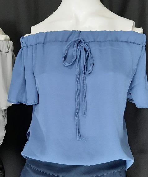 Blusa Ciganinha Closet Das Fadas De Tecido