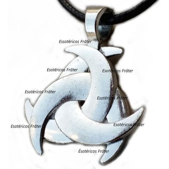Chifre Odin Triquetra Celta Wicca