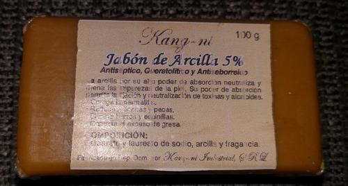Jabón De Arcilla 5% 100g