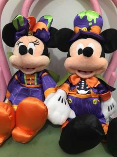 Peluches Muñecos Minnie + Mickey Halloween Disney Store