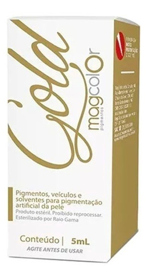 Pigmento Mag Colors Gold 5ml - Varias Cores