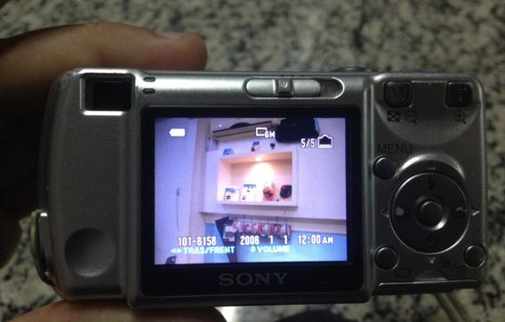 Câmera Digital-sony Cyber-shot 6.0 Megapíxels,dsc-s600!